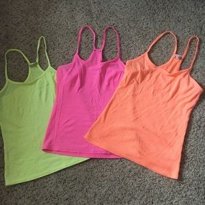 Express neon tank top bundle lot small